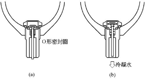弹簧式自动排水器结构原理图