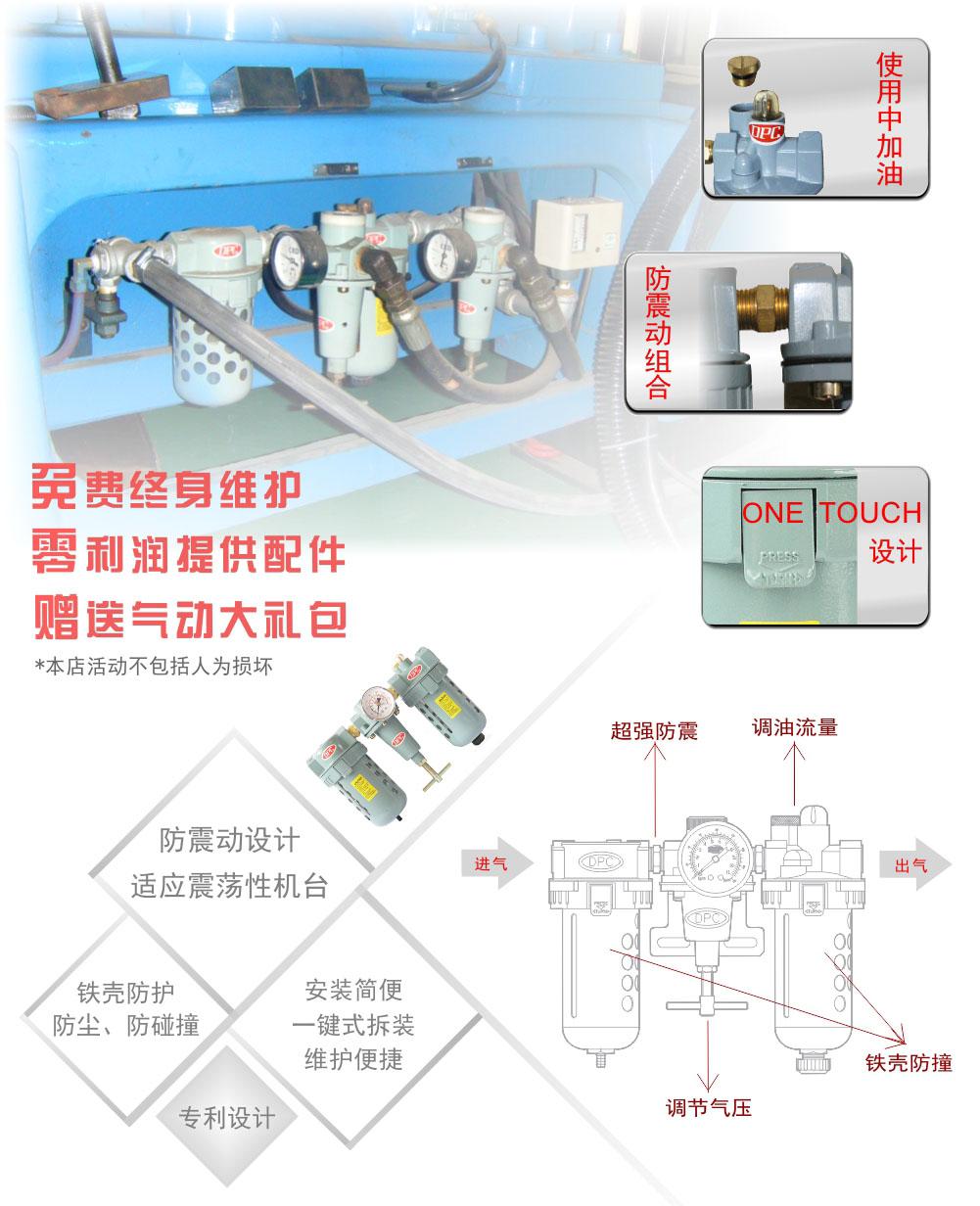 P796气源三联件采购细节图
