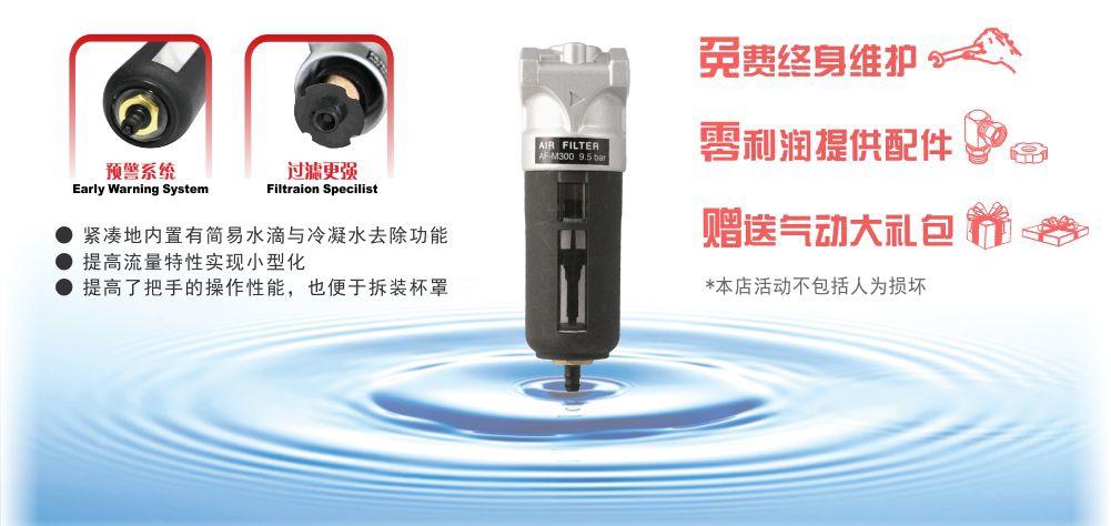 M-300压缩空气过滤器批发优势图