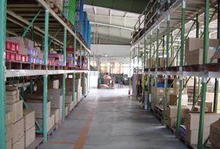 台湾DPC出货区仓储