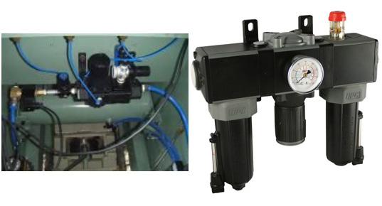 DPC气源三联件金属加工解决方案